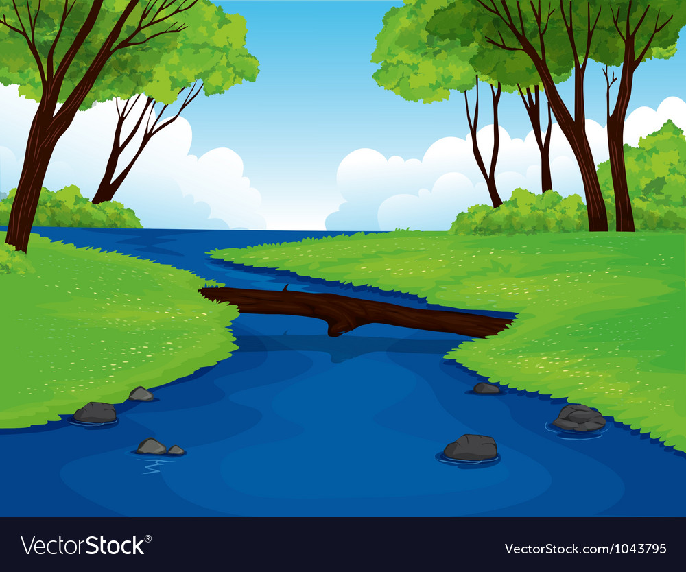 Beautiful landscape vector | Price: 1 Credit (USD $1)