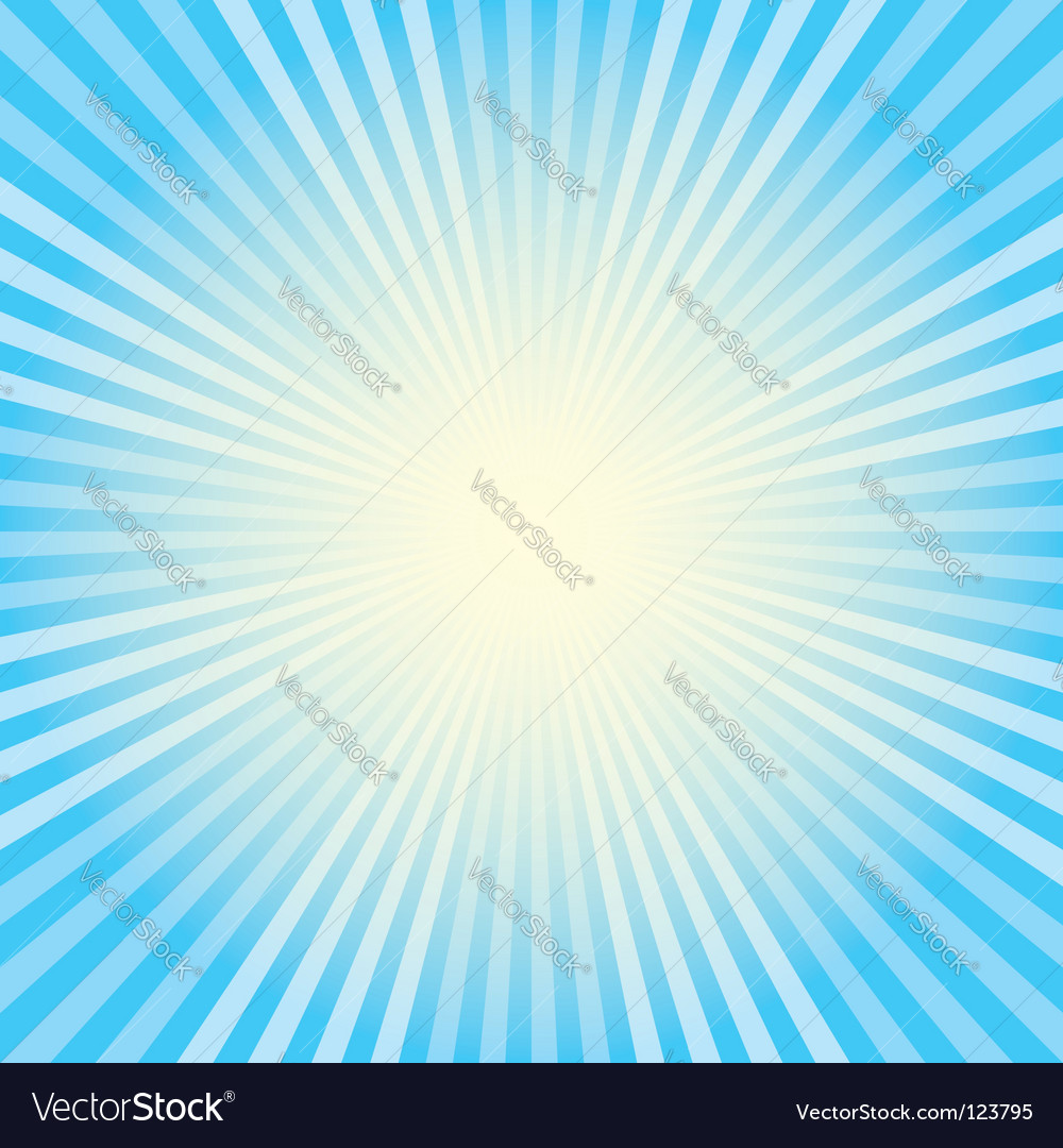 Blue rays vector | Price: 1 Credit (USD $1)