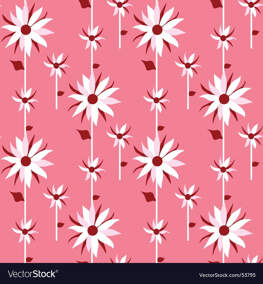 Floral design background vector | Price: 1 Credit (USD $1)