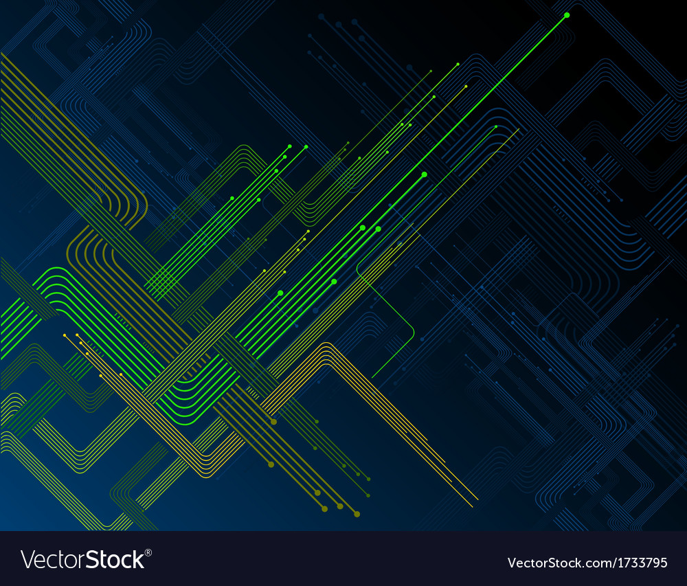 Futuristic abstract background vector | Price: 1 Credit (USD $1)