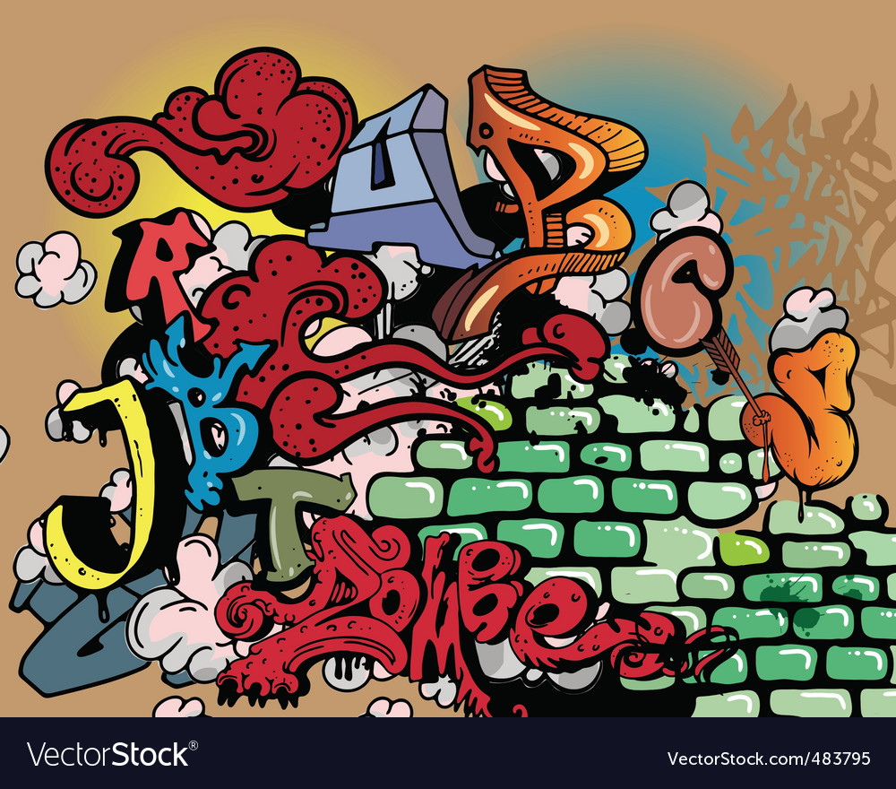 Graffiti elements vector   Price: 1 Credit (USD $1)