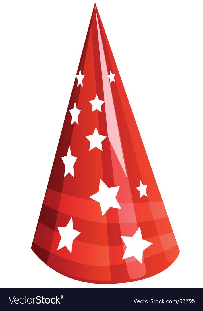 Party cap vector | Price: 1 Credit (USD $1)