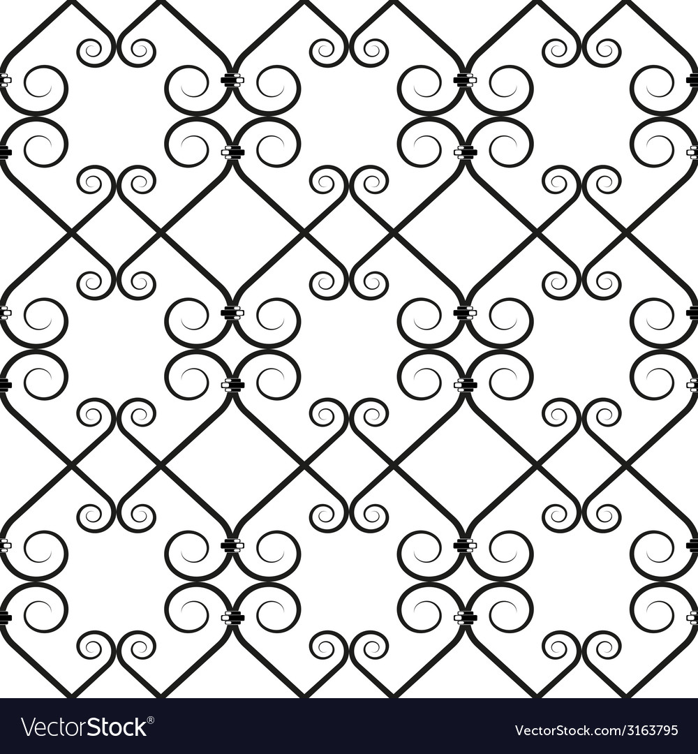 Wrought iron pattern vector   Price: 1 Credit (USD $1)