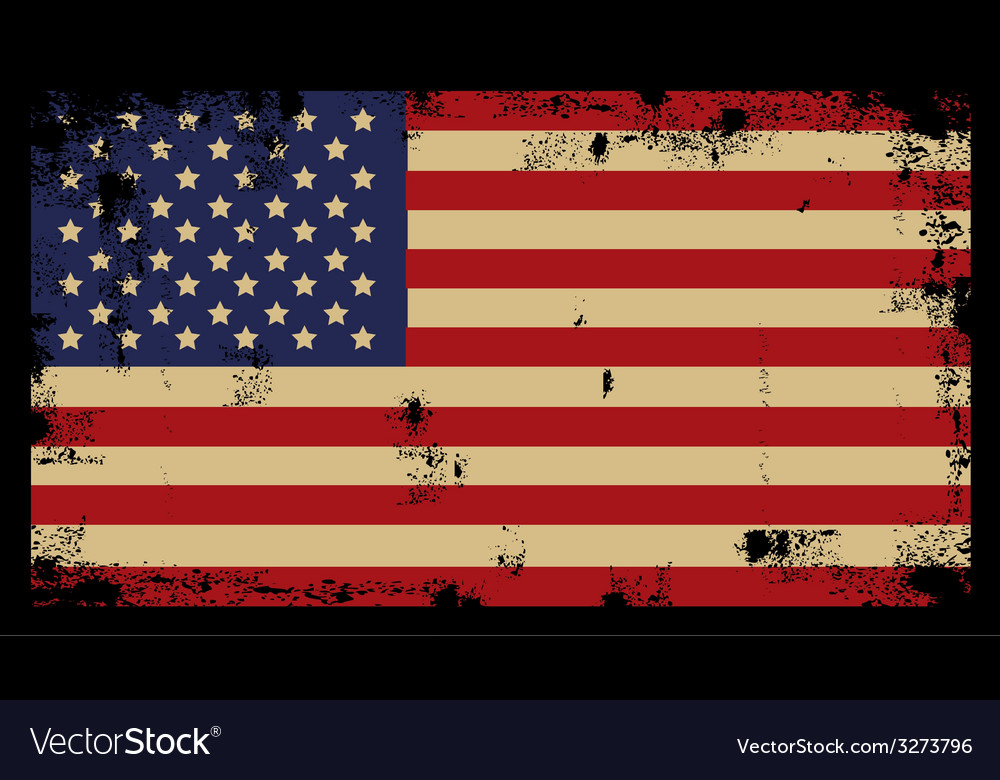 Grunge american background 2 vector | Price: 1 Credit (USD $1)