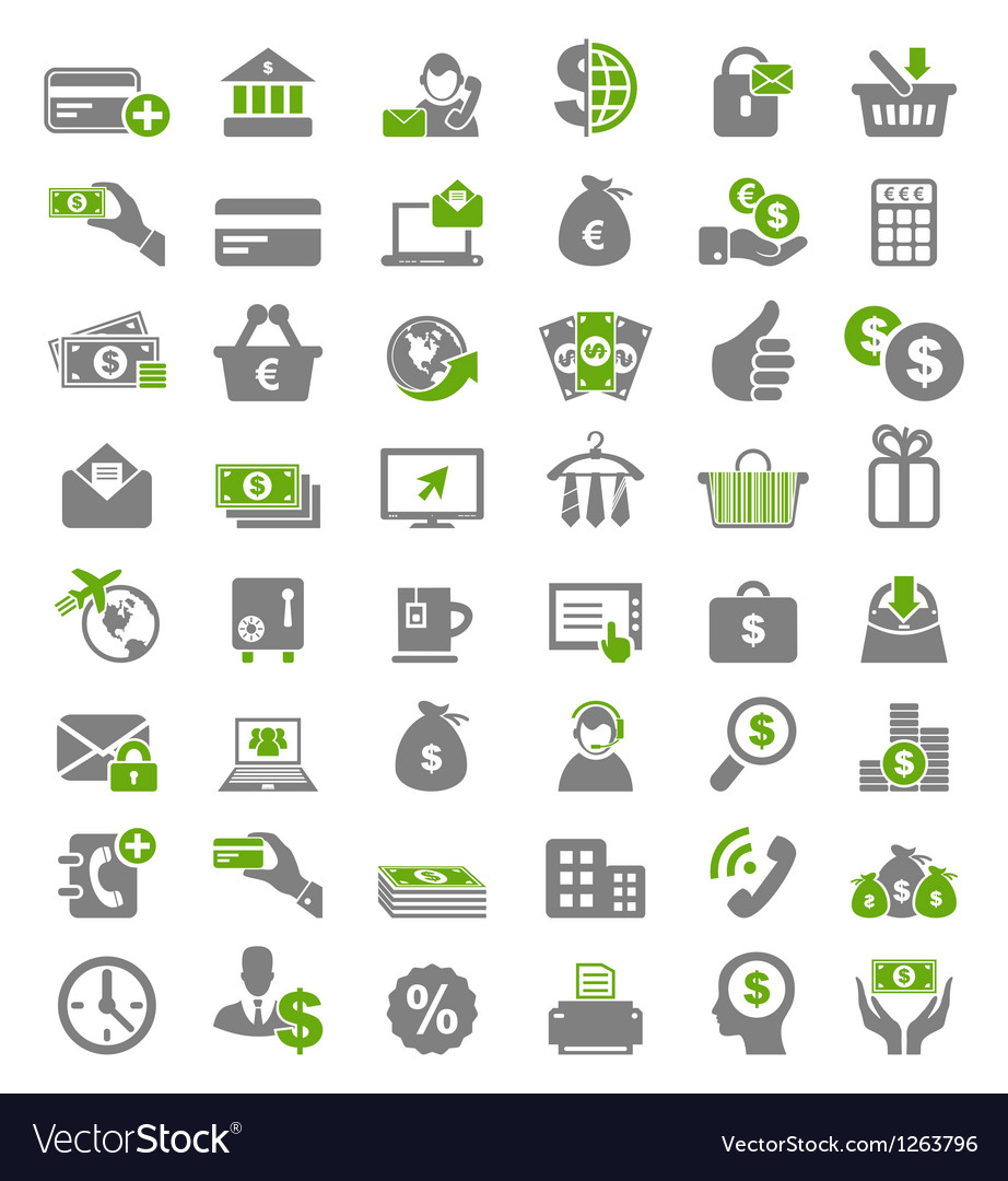 Icon business vector | Price: 1 Credit (USD $1)