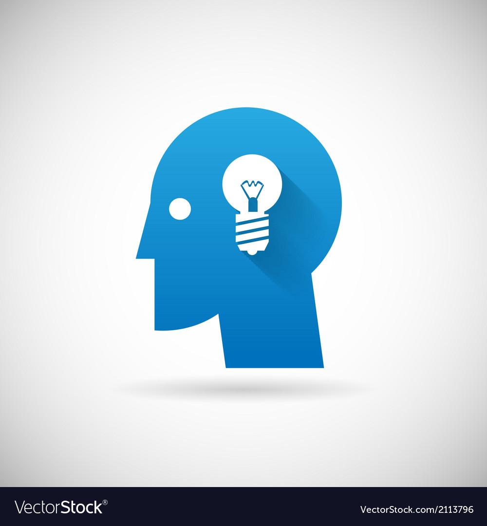 Idea symbol business creativity icon design vector | Price: 1 Credit (USD $1)