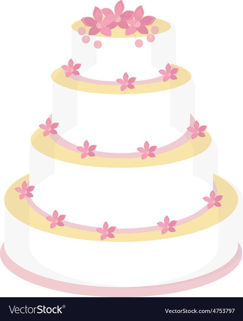 Wedding cake vector   Price: 1 Credit (USD $1)