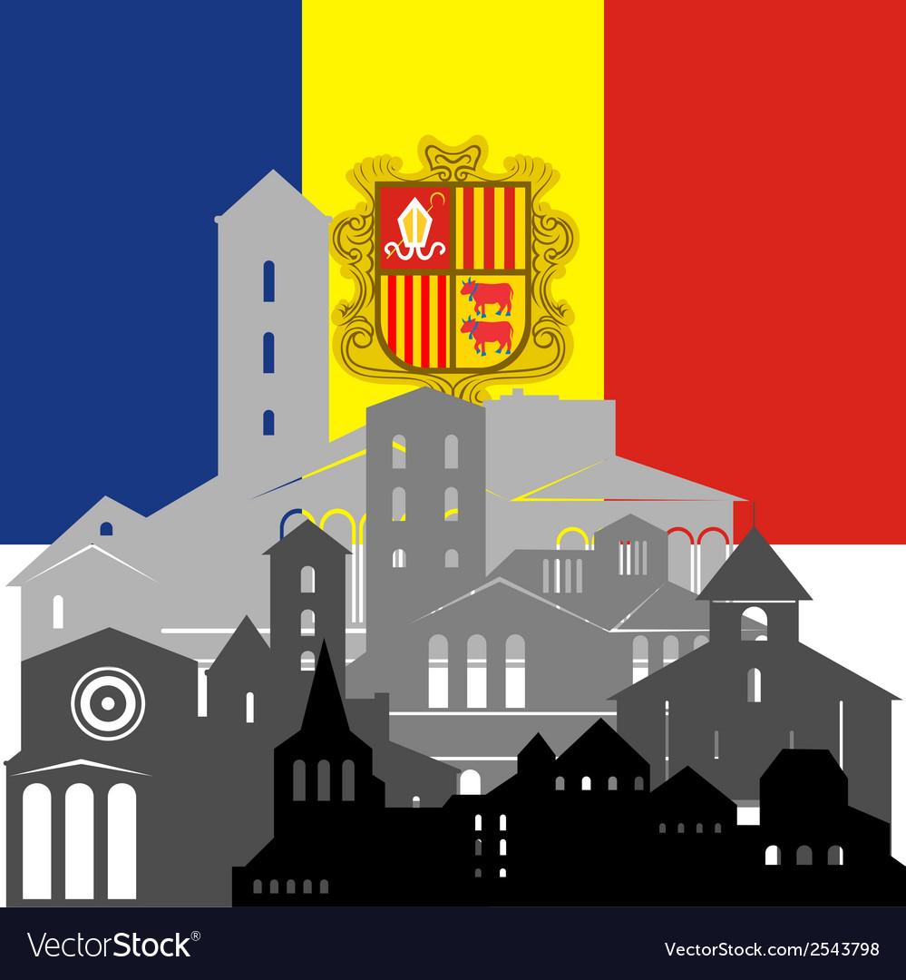 Andorra vector | Price: 1 Credit (USD $1)