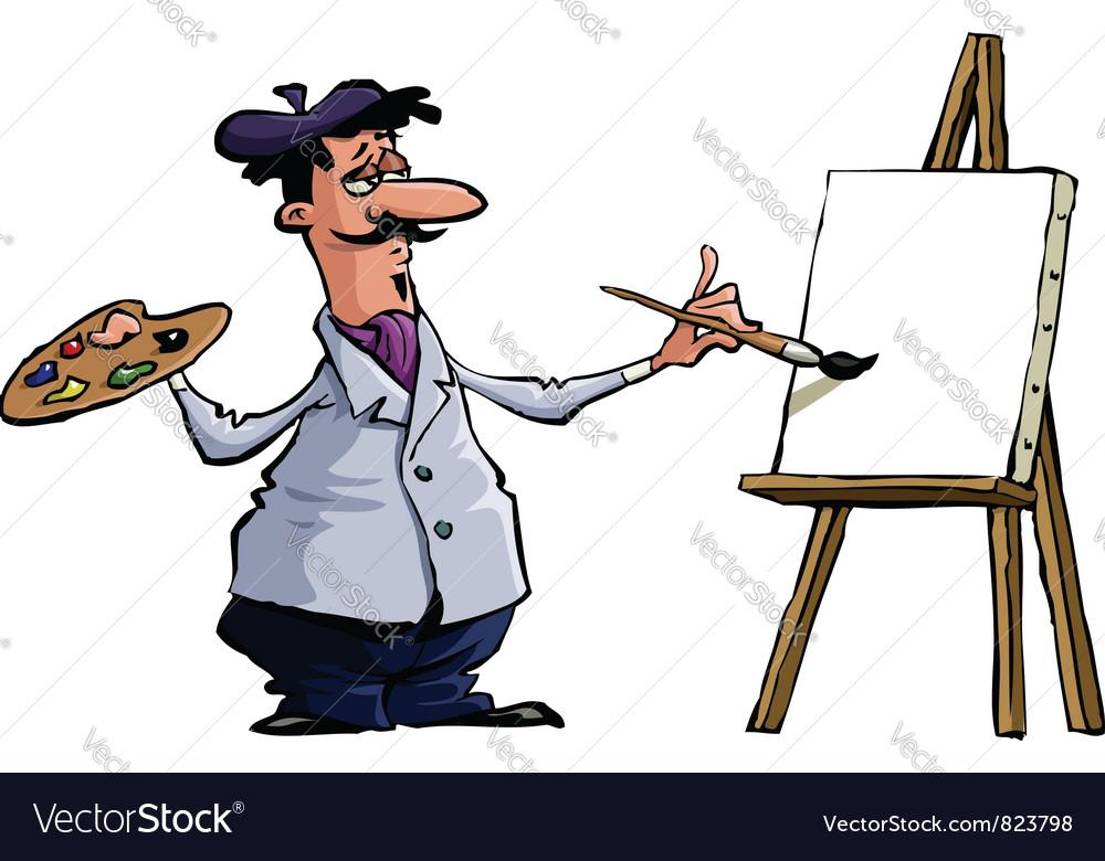 Artist vector | Price: 1 Credit (USD $1)