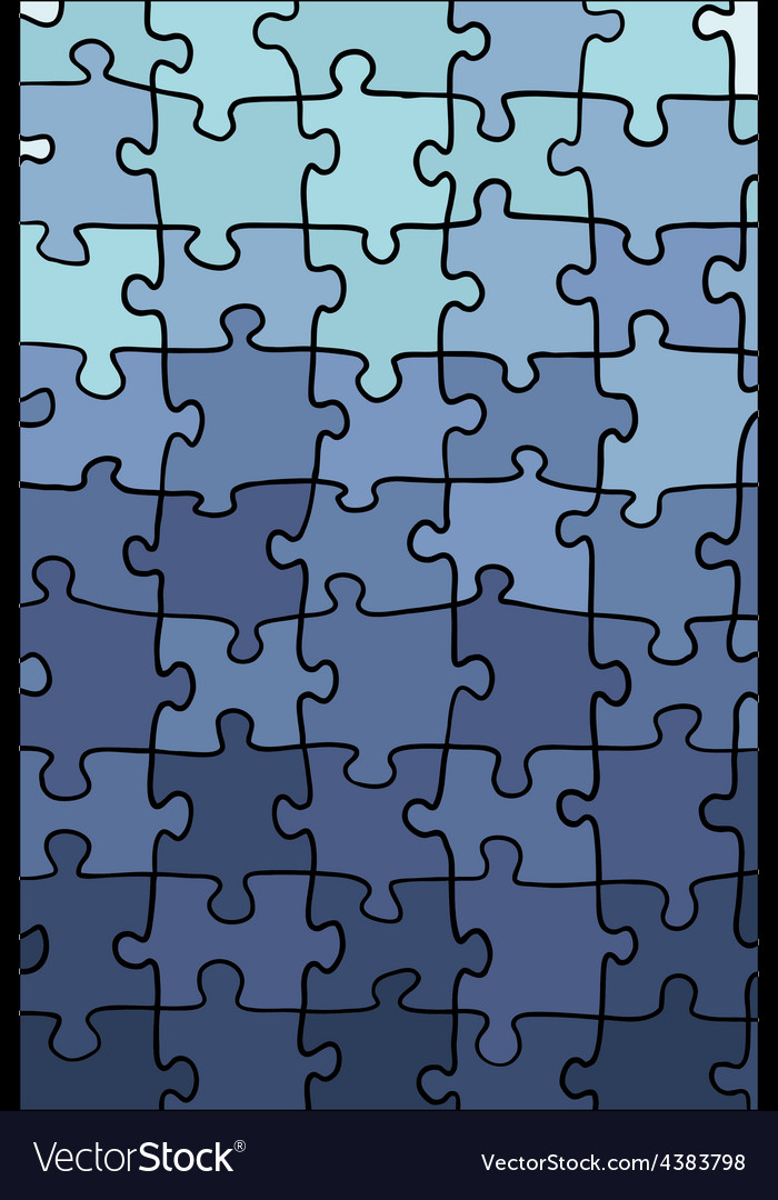 Blue gradient puzzle texture vector | Price: 1 Credit (USD $1)