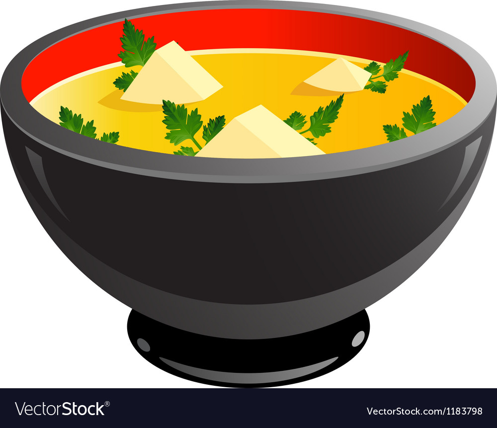 Miso soup vector | Price: 1 Credit (USD $1)