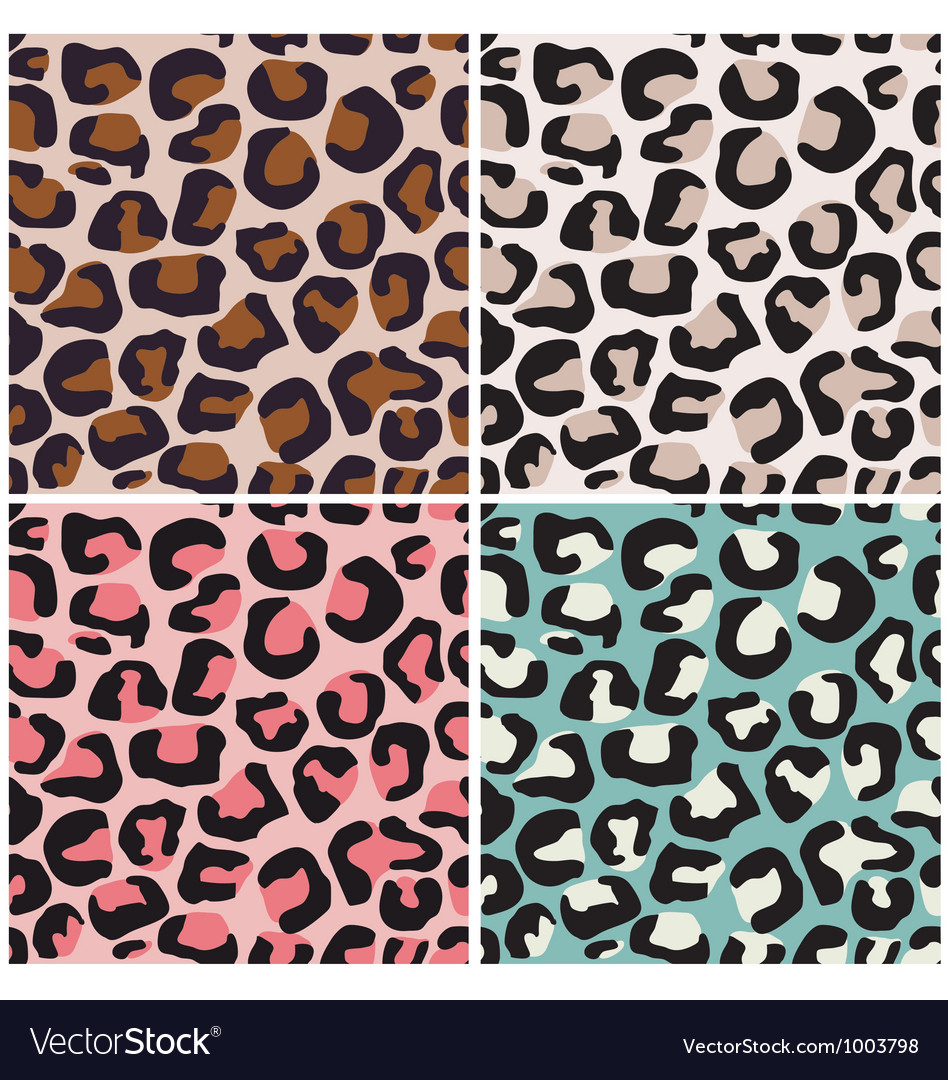 Seamless africa animal print vector | Price: 1 Credit (USD $1)