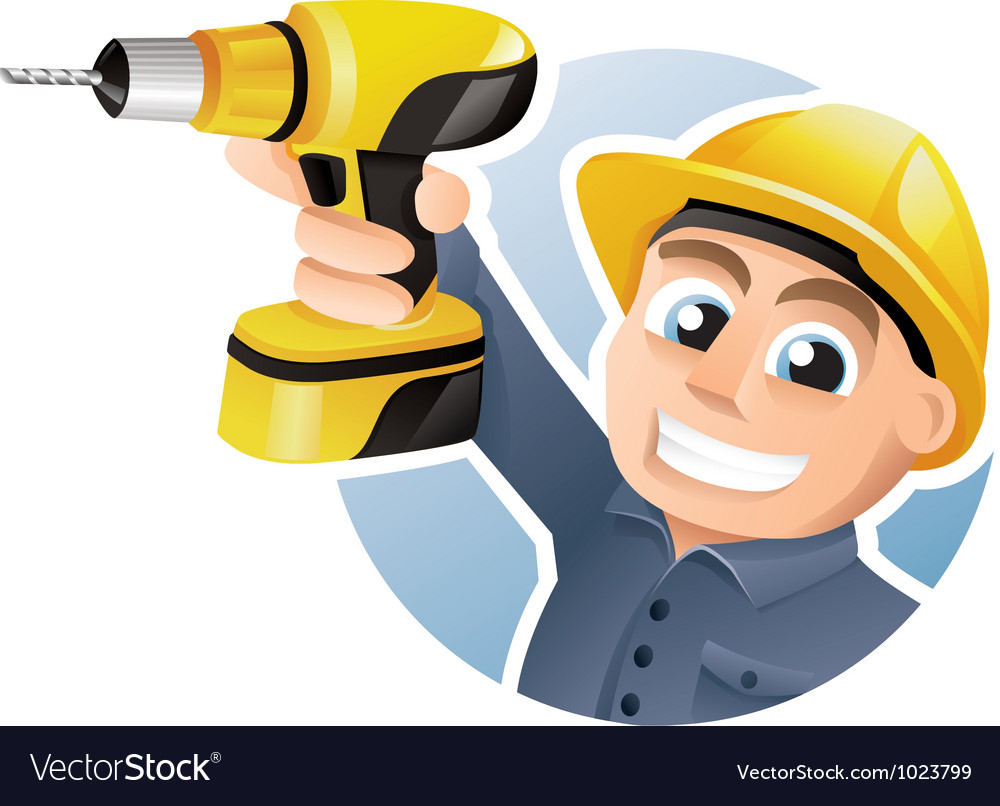 Construction worker vector | Price: 3 Credit (USD $3)