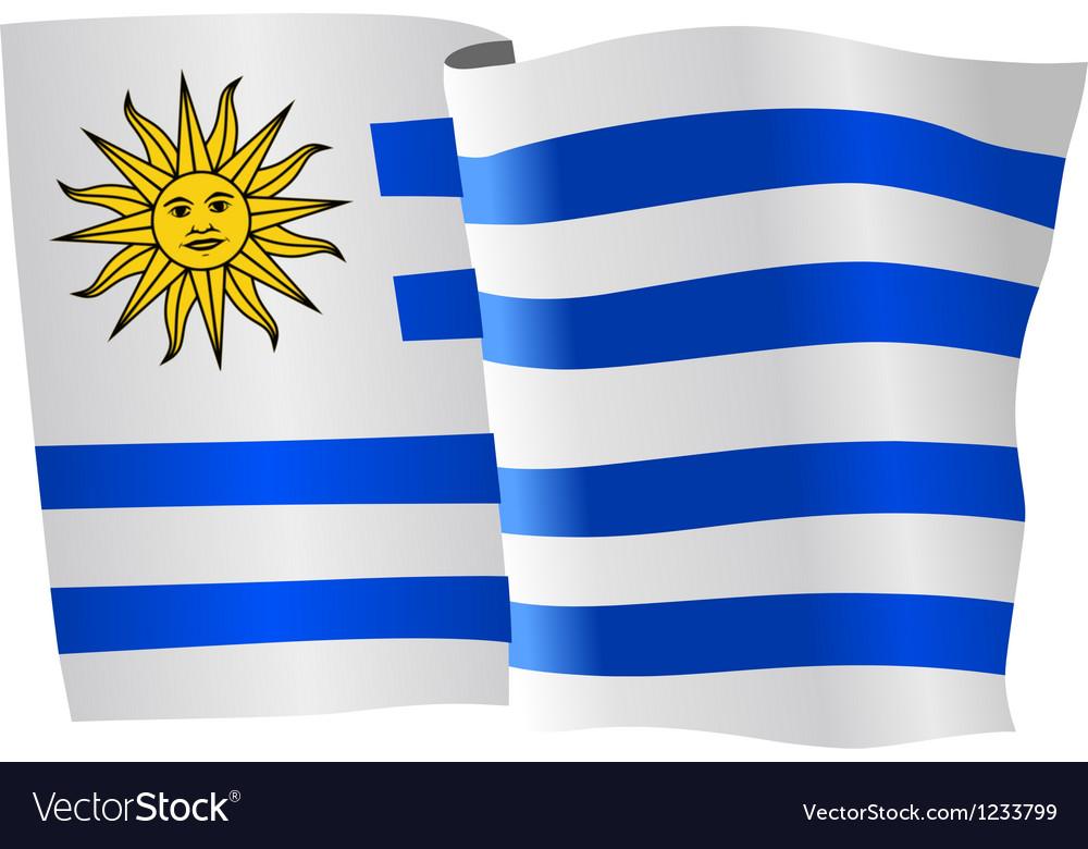 Flag of uruguay vector | Price: 1 Credit (USD $1)