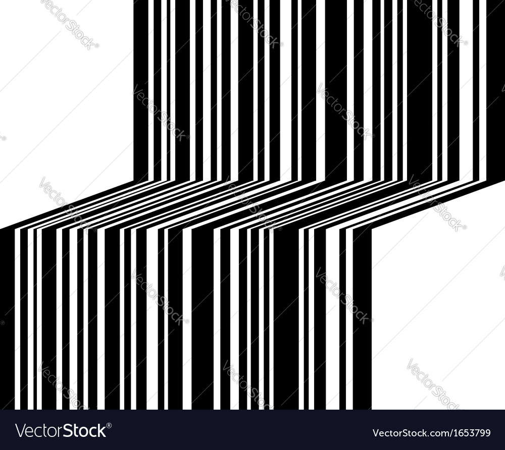 Graphical bar code vector | Price: 1 Credit (USD $1)