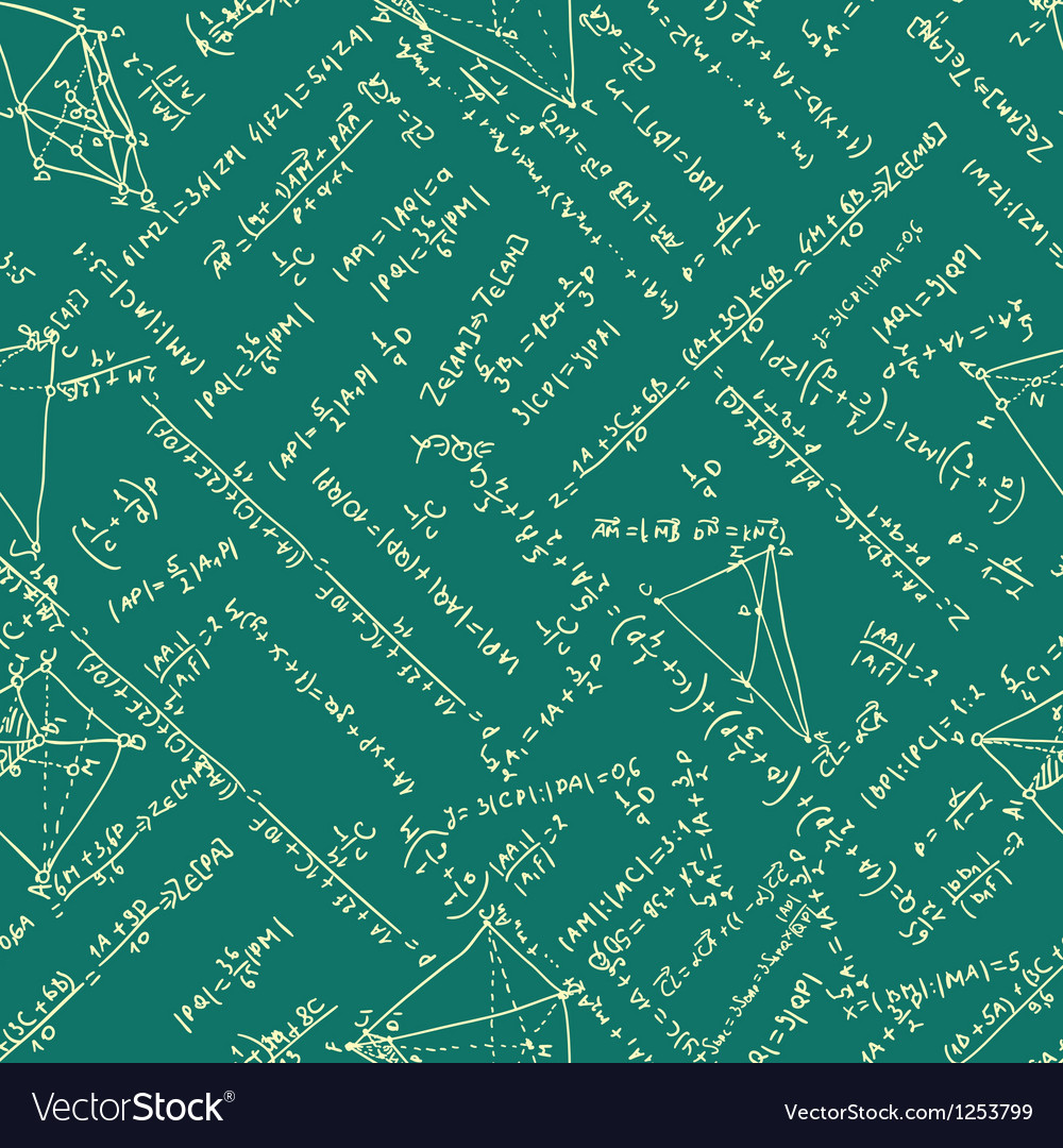 Maths seamless pattern eps 8 vector | Price: 1 Credit (USD $1)