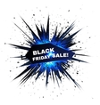 Black friday sale explosion with particles vector