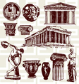Ancient greece vector