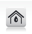 Home water icon vector