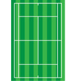 Sport tennis court vector
