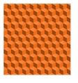 Abstract seamless backgroynd 3d cubes vector