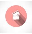 Film icon vector