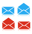 Envelope set icon vector