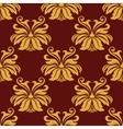 Lush foliate seamless pattern vector