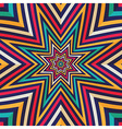 Abstract background - crazy colorful lines vector
