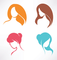 Haircut icons set vector