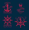 T-shirt design nautical marine badge design vector
