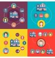 Set elements of infographics travel vector