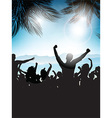 Summer party background 0207 vector