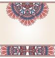 Floral oriental pattern vector
