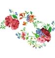 Flower bouquet set vector