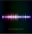 Abstract colorful music equalizer vector