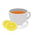 Tea cup vector