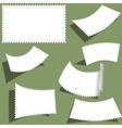 Postmark set vector