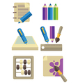 Education collection vector