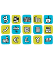 Icon finance vector