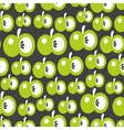 Green apples seamless texture vector