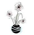 Floral elements for design vector