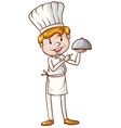 A simple sketch of a chef vector