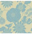 Floral garden pattern vector