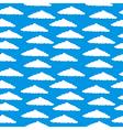 Cloud seamless pattern vector