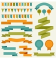 Collection of decorative design elements vector