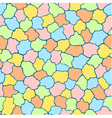 Seamless pattern made of colourful tiles vector