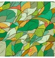 Bright mosaic pattern with branch silhouettes vector