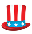 Uncle sam hat vector