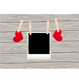 Hearts clothespins 03 vector